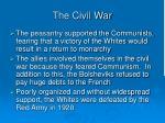 the civil war19