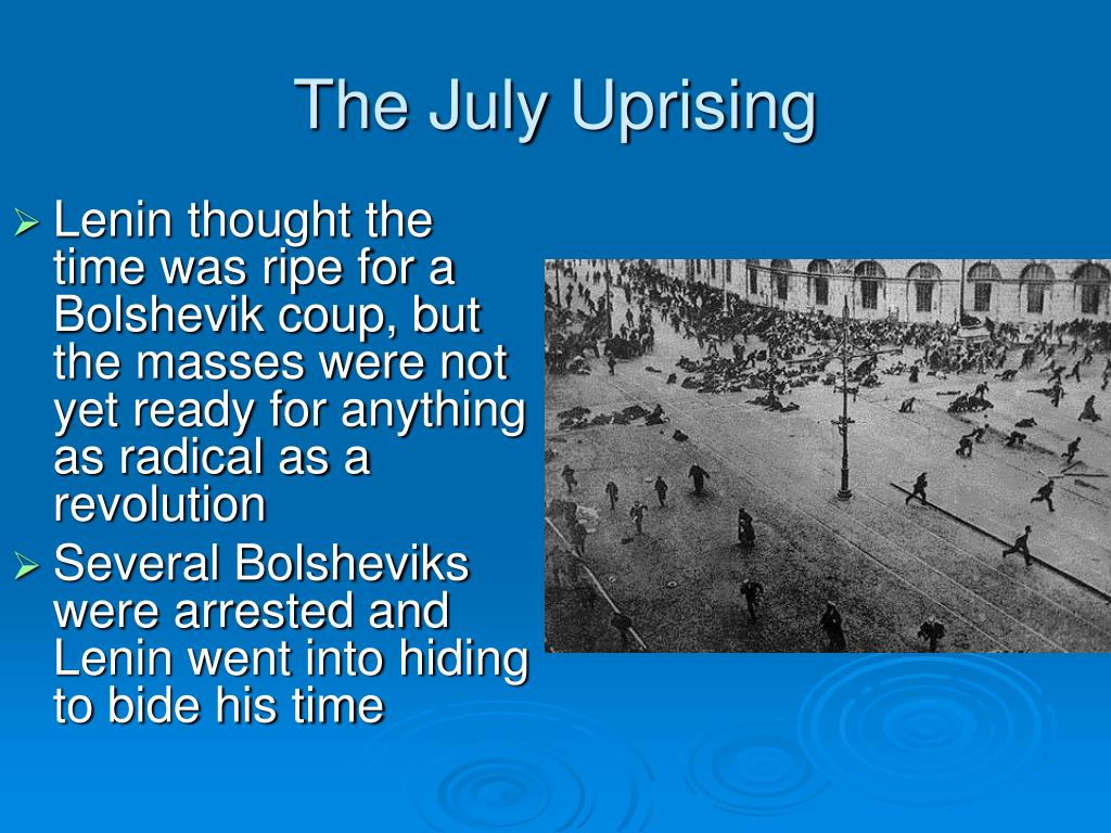 The July Uprising