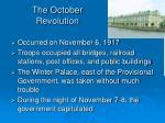 the october revolution