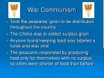 war communism23