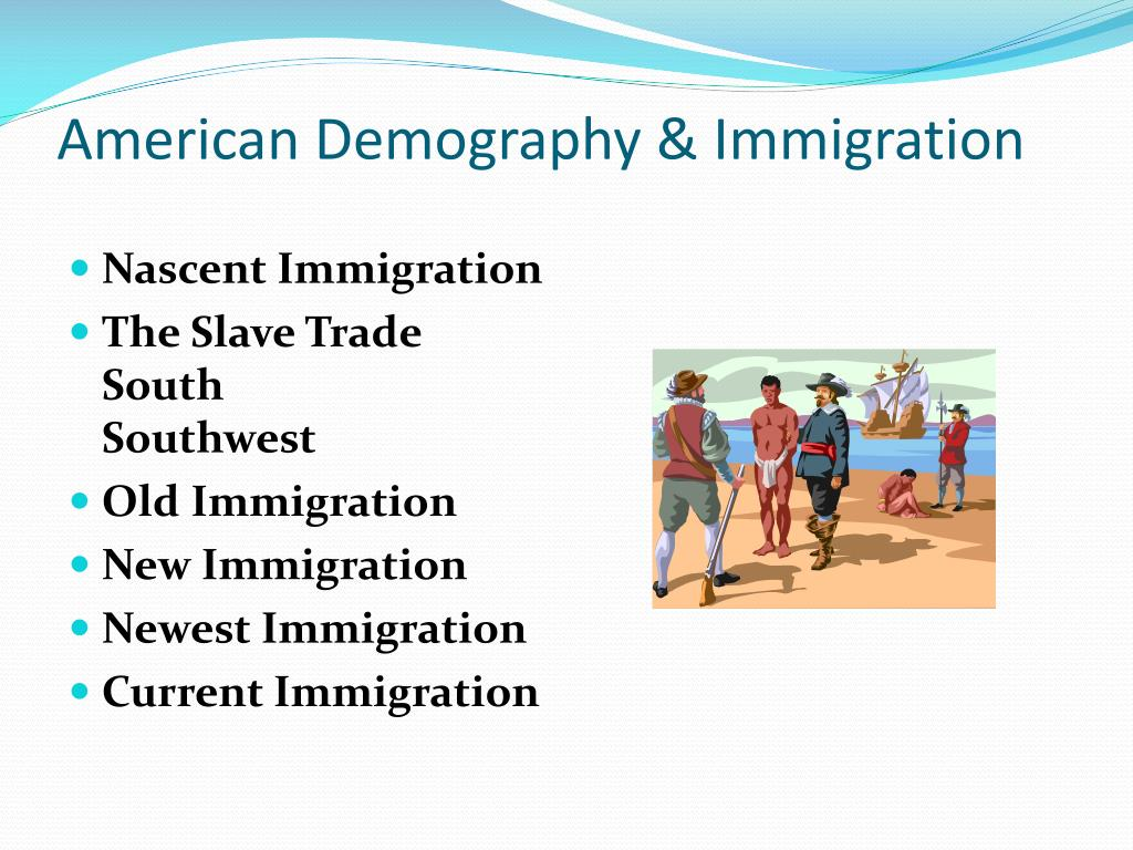 American Demography & Immigration