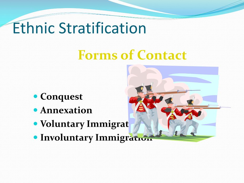 Ethnic Stratification