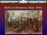 battle of monterrey sept 1846
