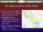 the mexican war 1846 1848