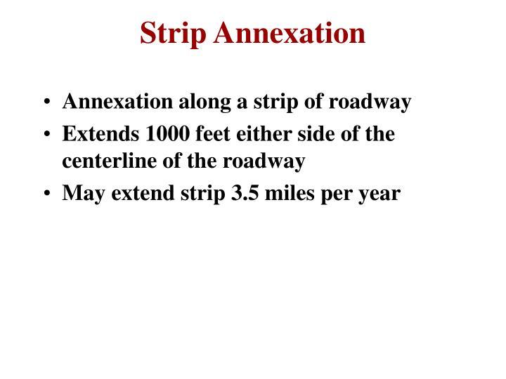 Strip Annexation