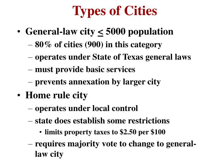 General-law city