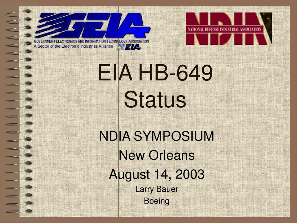 EIA HB-649