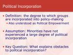 political incorporation