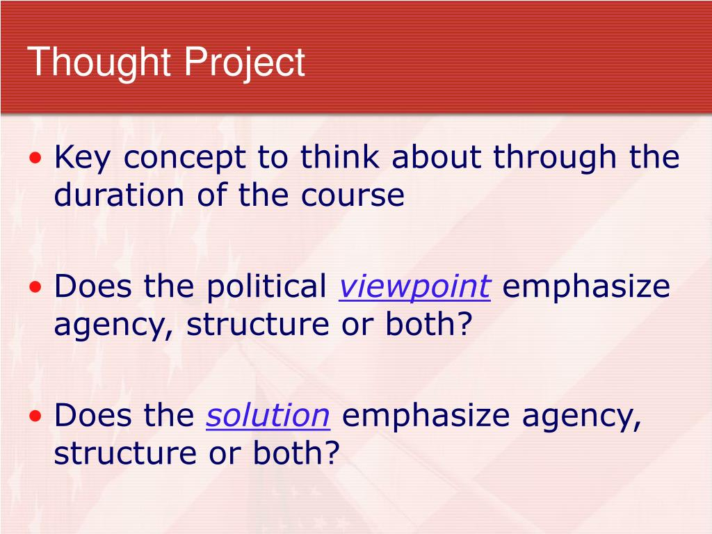 Thought Project