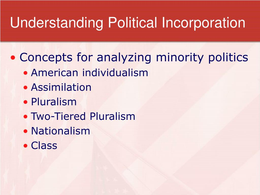 Understanding Political Incorporation