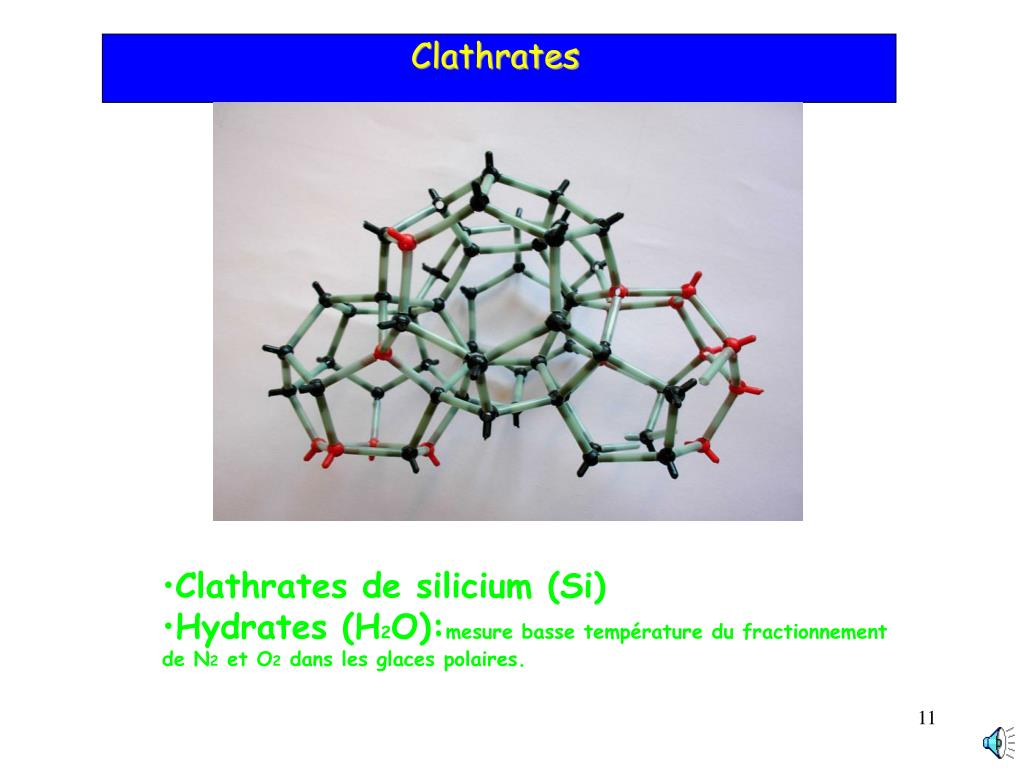 Clathrates