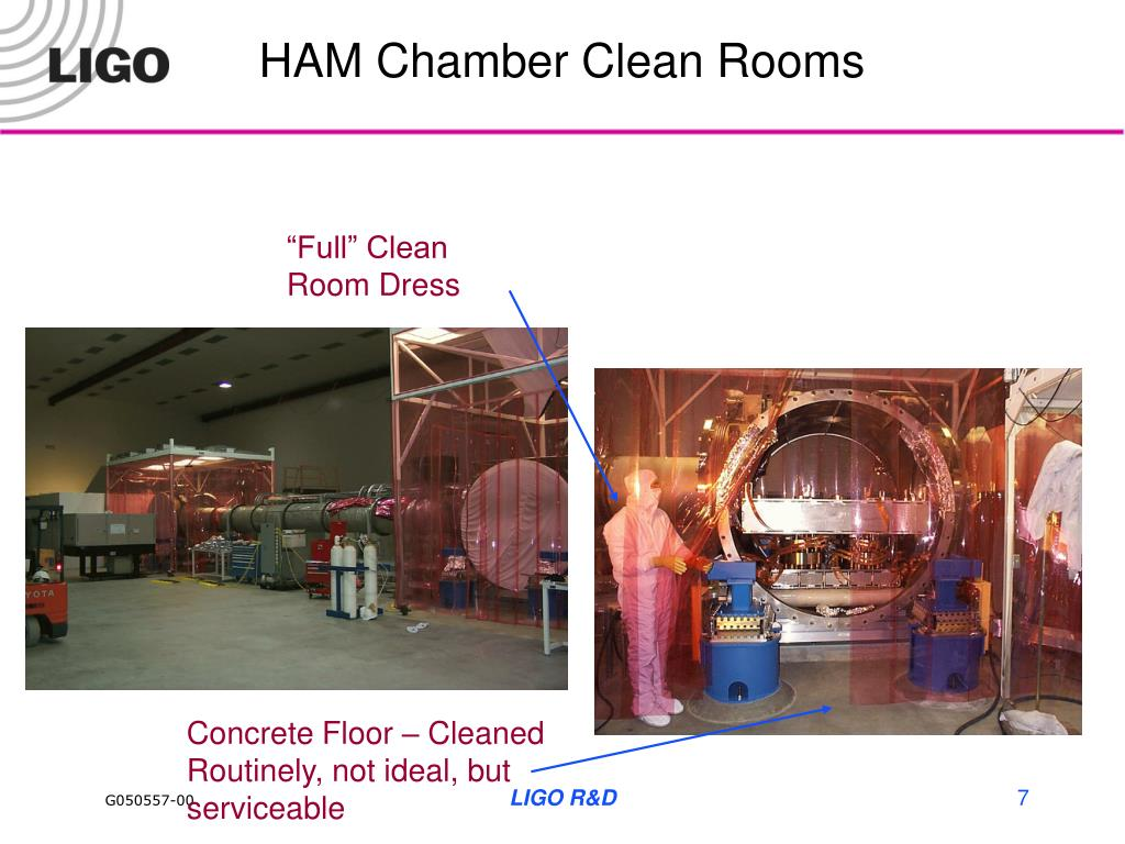 HAM Chamber Clean Rooms