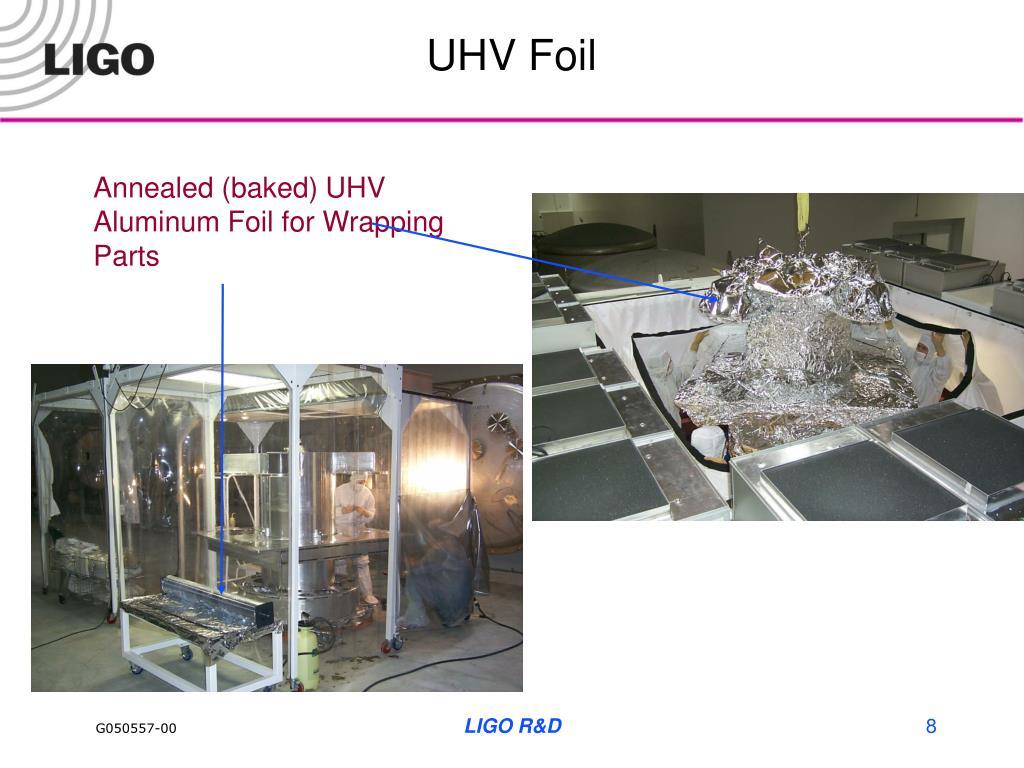 UHV Foil