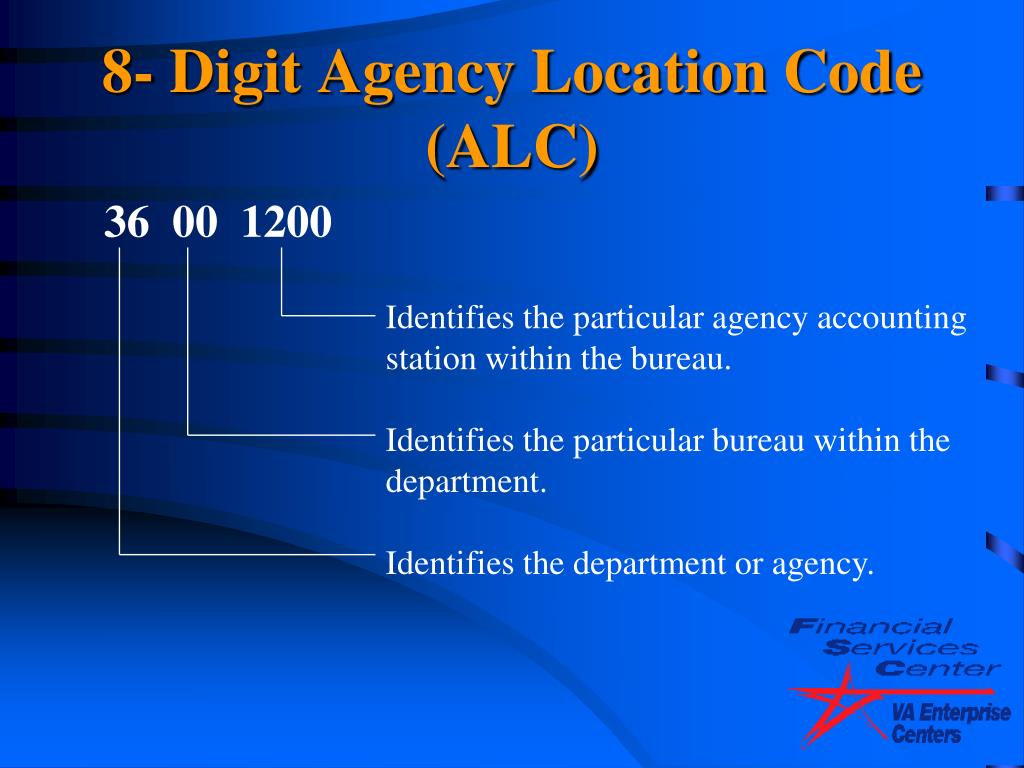 Identifies the particular agency accounting station within the bureau.
