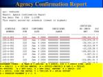 agency confirmation report34