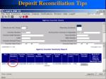 deposit reconciliation tips116