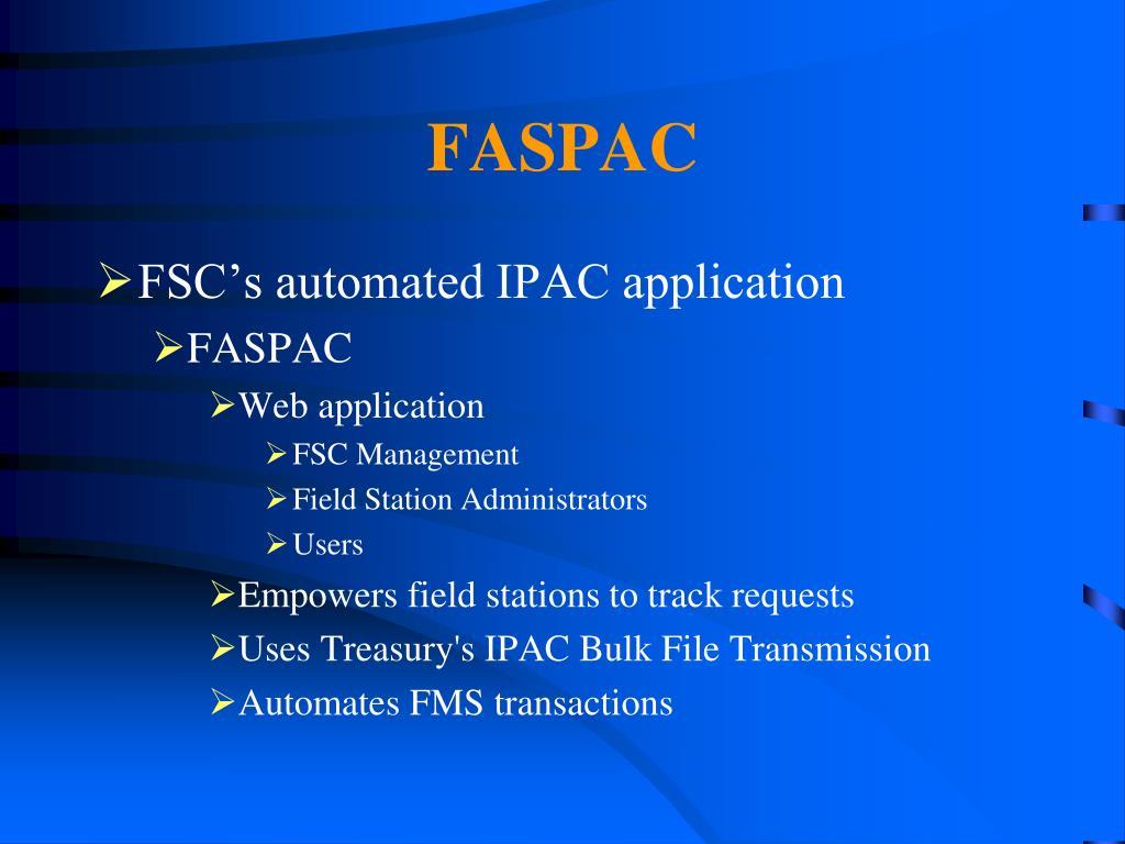 FASPAC