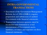 intra governmental transactions193