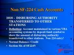 non sf 224 cash accounts19