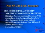 non sf 224 cash accounts20