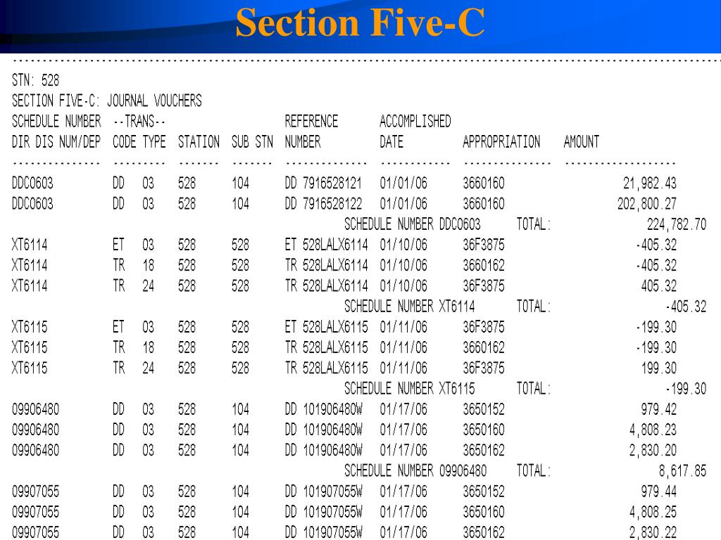 Section Five-C
