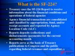 what is the sf 2244