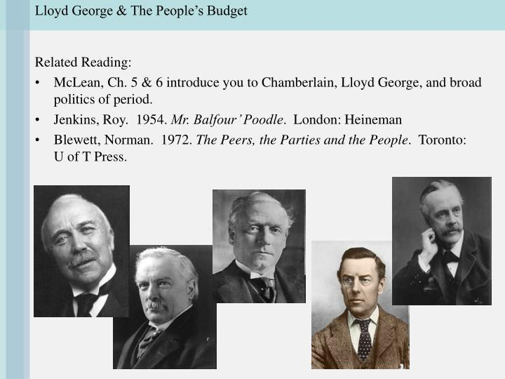 Lloyd george the people s budget