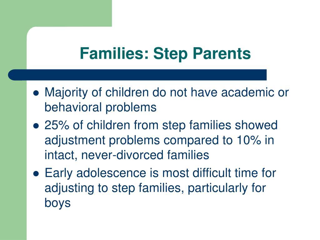 Families: Step Parents