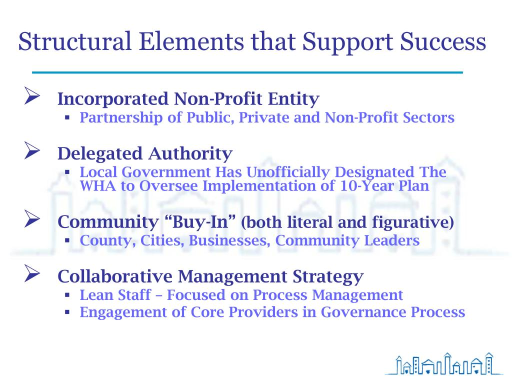 Structural Elements that Support Success