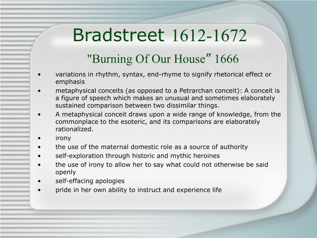 Bradstreet