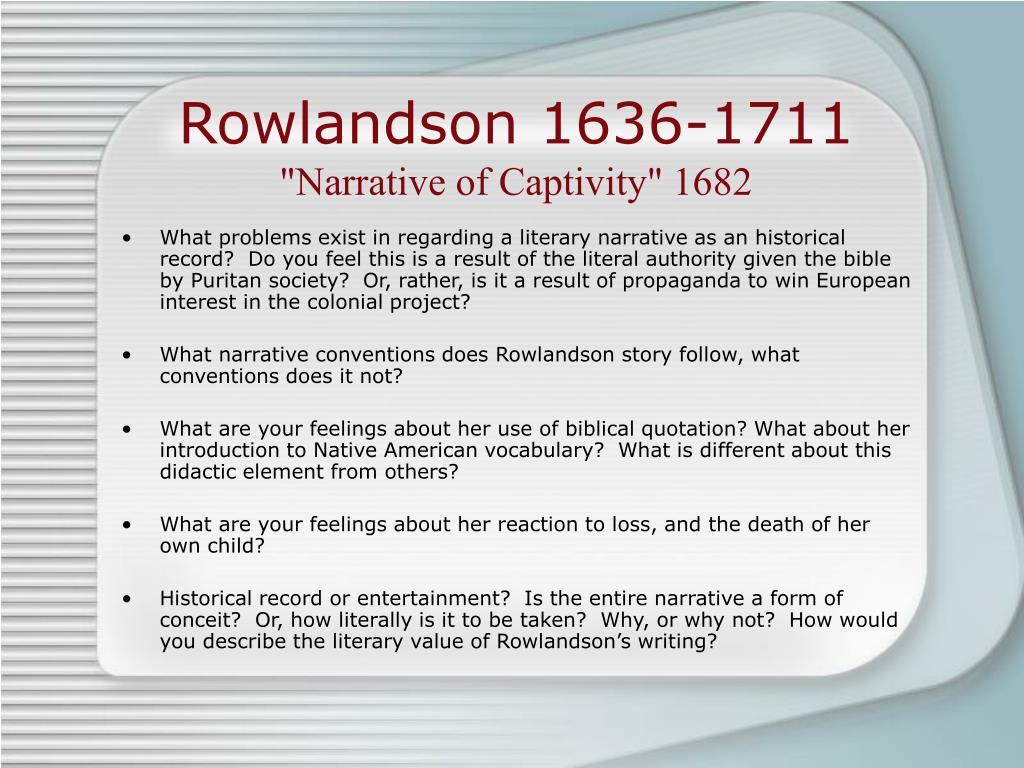 Rowlandson 1636-1711