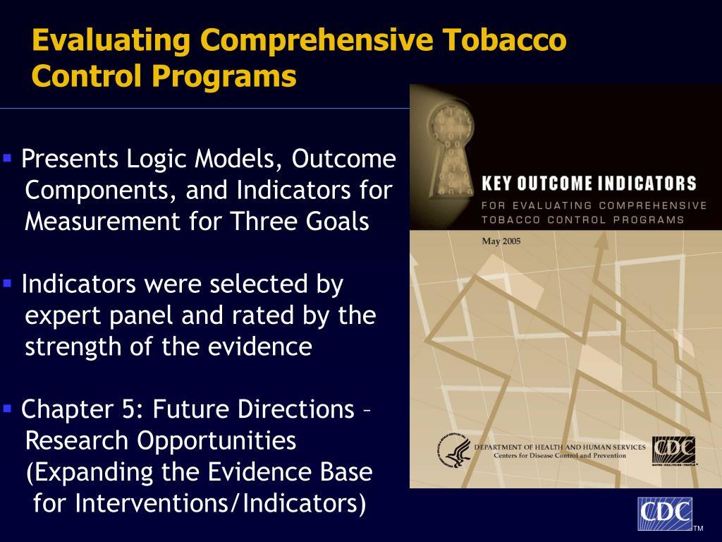 Evaluating Comprehensive Tobacco