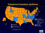 telephone cessation quitlines