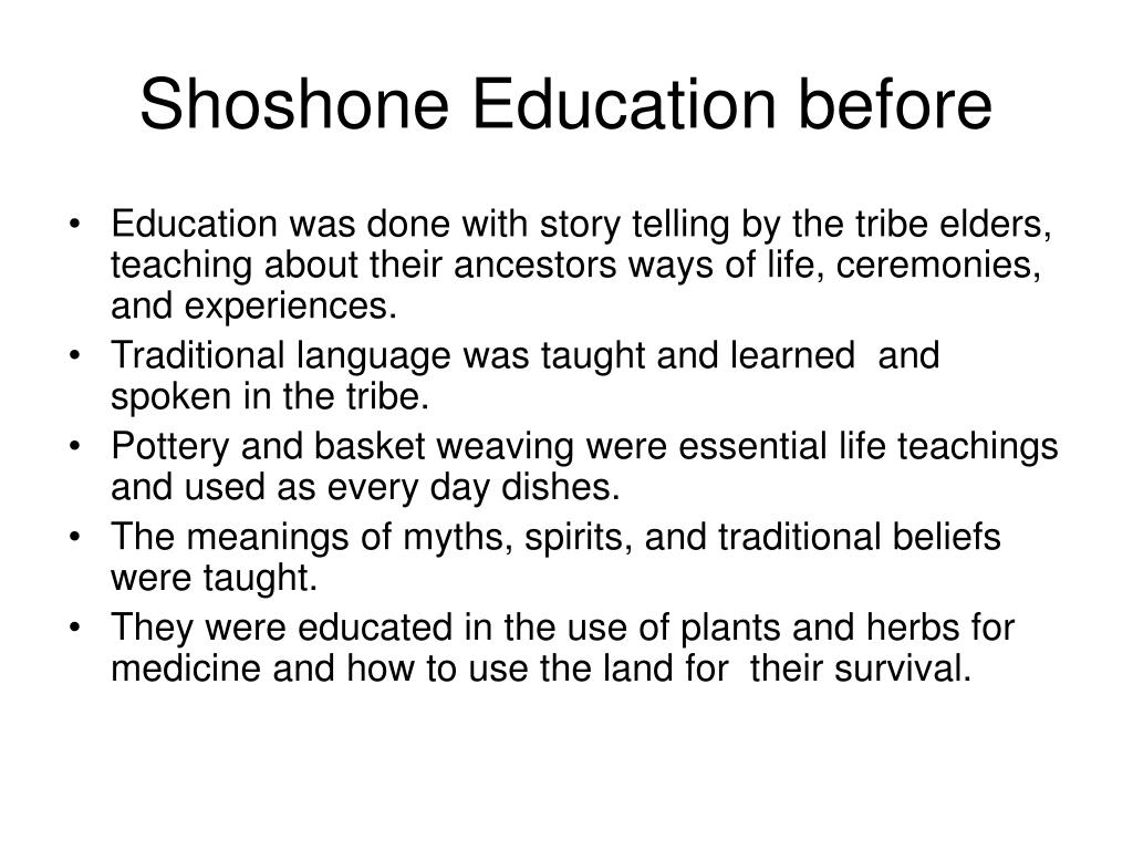 shoshone eassay My focus in this essay is shoshone and paiute arguments animist intersubjectivity as argumentation: western shoshone and southern shoshone and paiute people.
