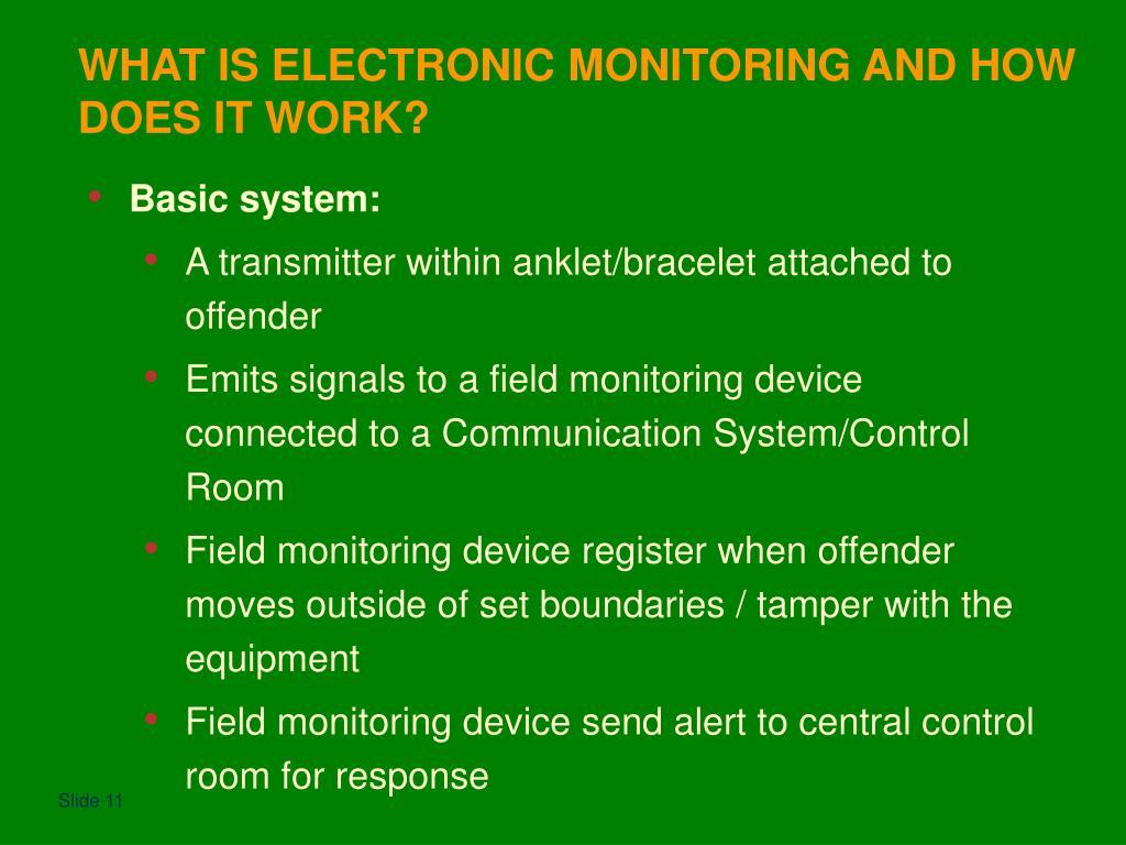 Basic system:
