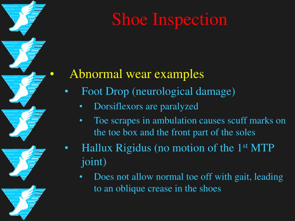 Shoe Inspection