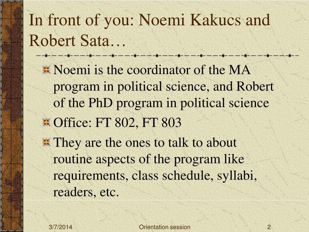 In front of you: Noemi Kakucs and Robert Sata…