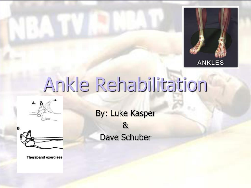 Ankle Rehabilitation