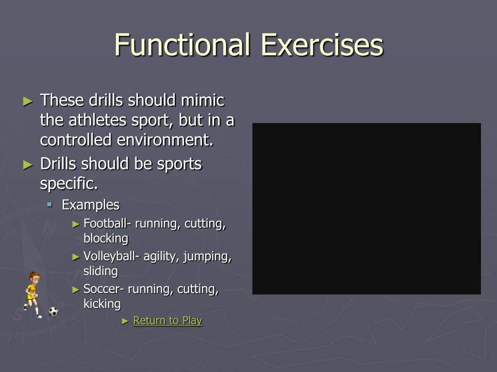 Functional Exercises