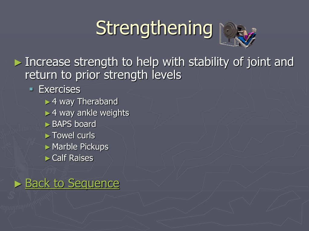 Strengthening