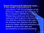 some empirical evidences cont31