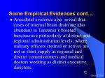 some empirical evidences cont32