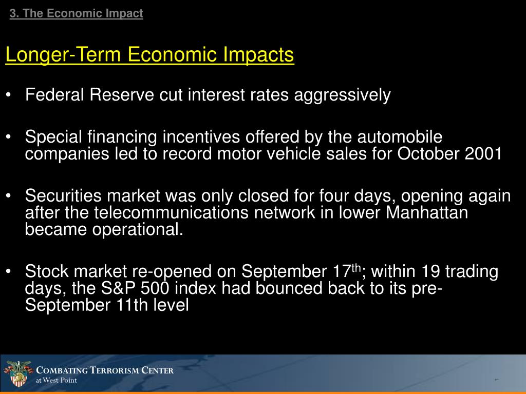3. The Economic Impact