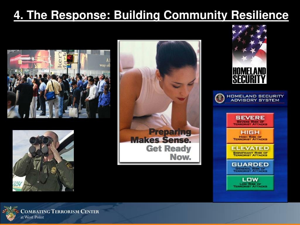 4. The Response: Building Community Resilience
