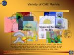 variety of cme models