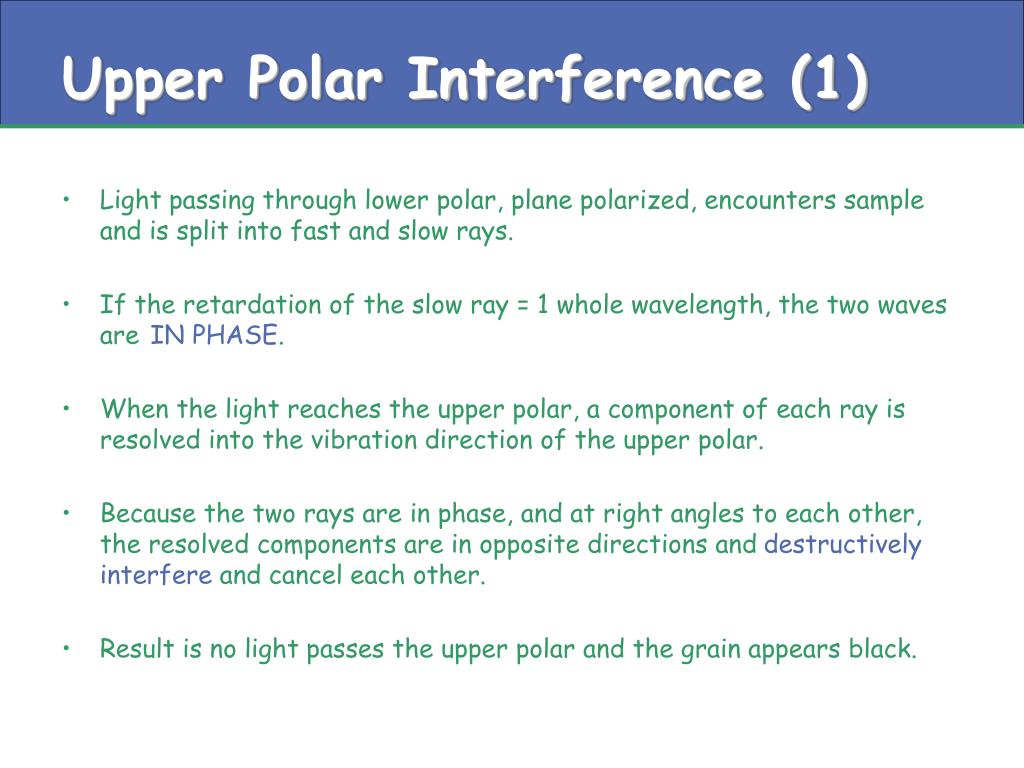 Upper Polar Interference (1)