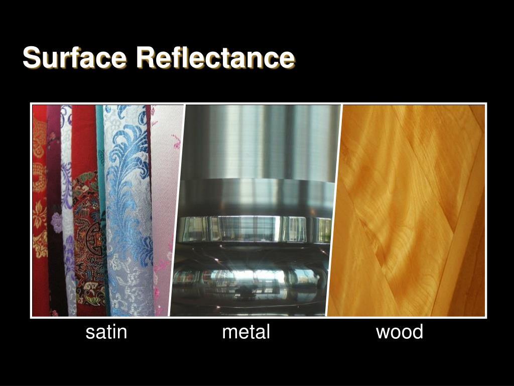 Surface Reflectance