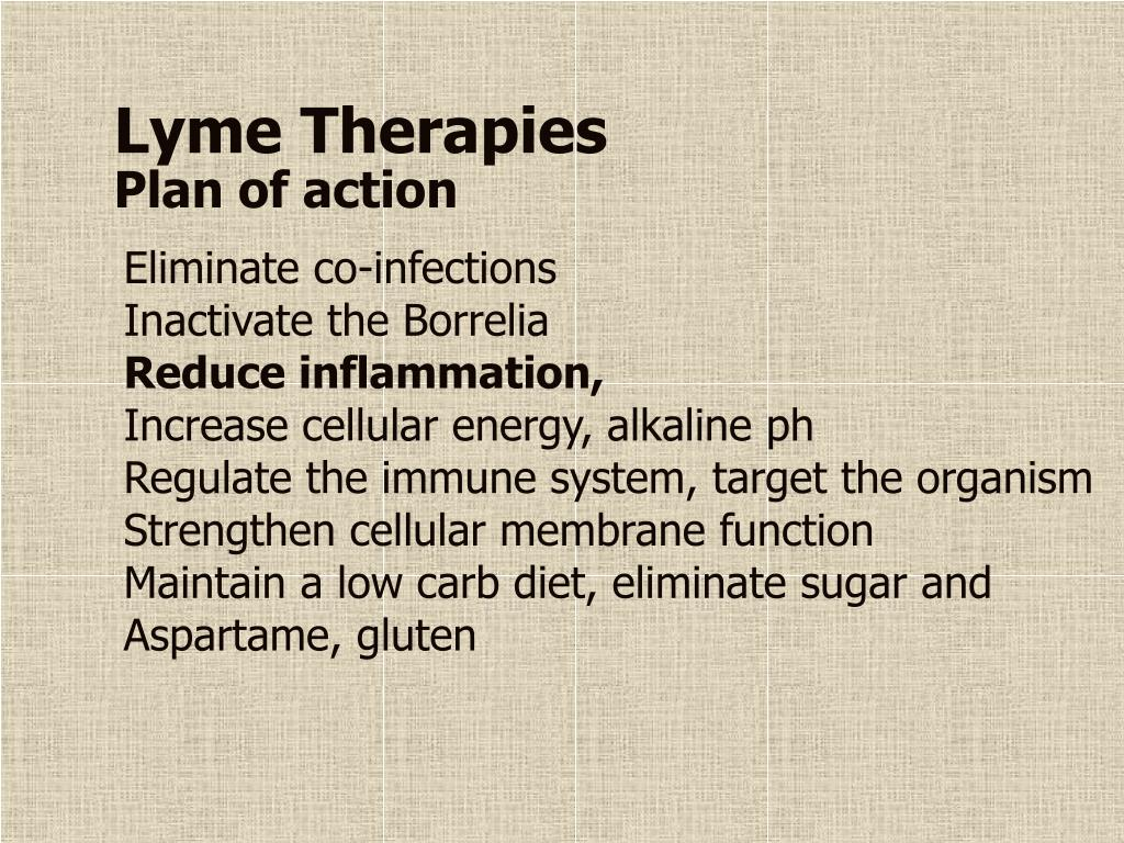 Lyme Therapies