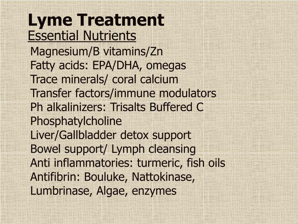 Lyme Treatment