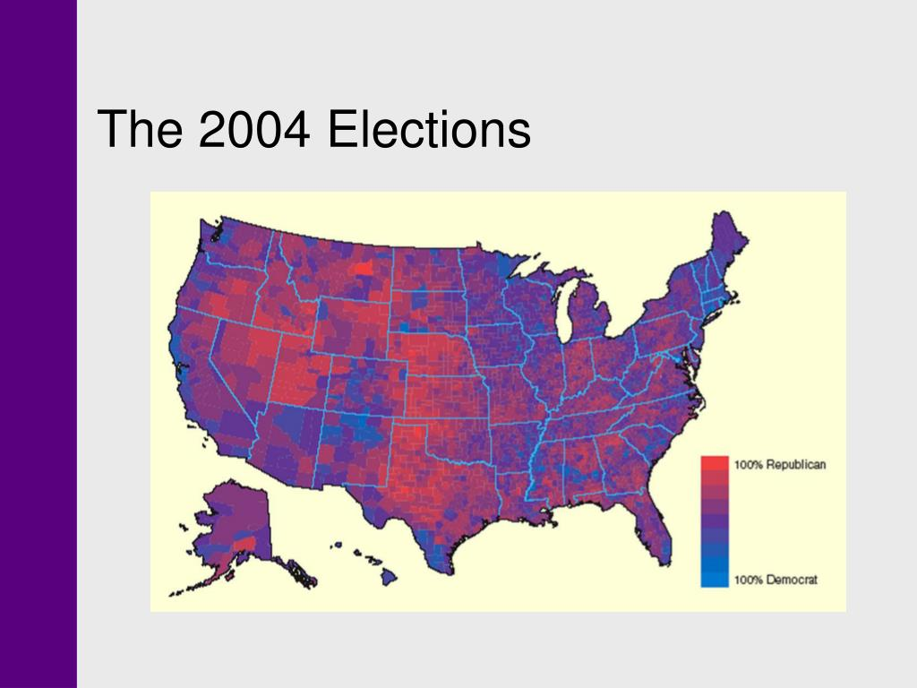The 2004 Elections